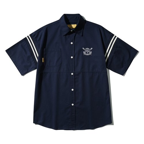 [메인부스] Univ. Stadium Half Shirt_NAVY
