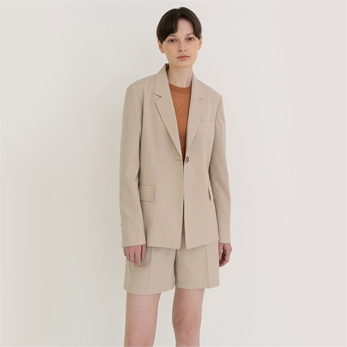 [노타] light summer jacket_beige