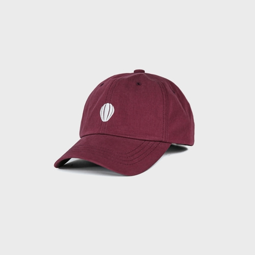 [앵글런] Signature Logo Ball Cap - Burgundy